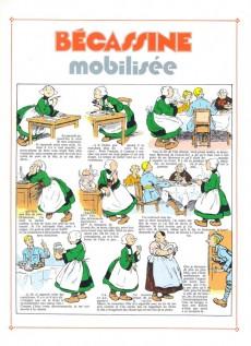 Extrait de Bécassine -4d- Bécassine mobilisée