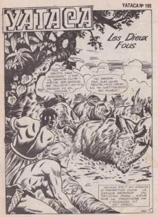 Extrait de Yataca (Fils-du-Soleil) -195- Les Dieux fous