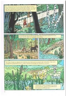 Extrait de Une nouvelle aventure de Zin, Zinneke de Bruxelles -1- L'iris de bruocsela