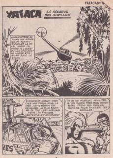 Extrait de Yataca (Fils-du-Soleil) -185- La réserve des gorilles