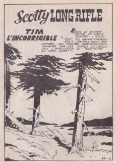 Extrait de Long Rifle -67- Tim l'incorrigible