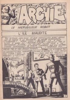 Extrait de Archie (Jeunesse et Vacances) -26- L'île maudite