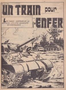Extrait de Z33 agent secret -107- Un train pour l'enfer