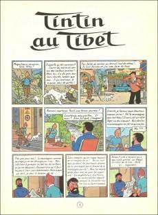 Extrait de Tintin (Historique) -20C4- Tintin au Tibet