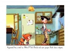 Extrait de P'tit Boule & Bill -1- La partie de crêpes