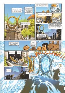 Extrait de Lanfeust Odyssey -3- Le banni d'Eckmül