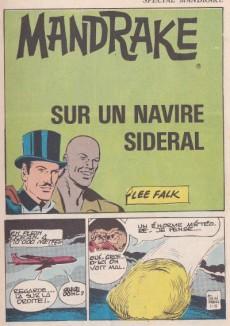 Extrait de Mandrake (4e Série - Remparts) (Spécial - 2) -9- Sur un navire sidéral