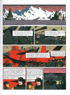 Extrait de Blake et Mortimer (Les Aventures de) -INT1a- Le Secret de l'Espadon - Intégrale