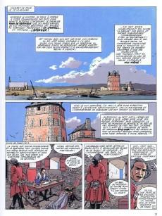 Extrait de L'Épervier (Pellerin) -3a2005- Tempête sur Brest
