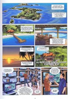Extrait de Meilleur Job du monde (le) -1- L'île Carpenter