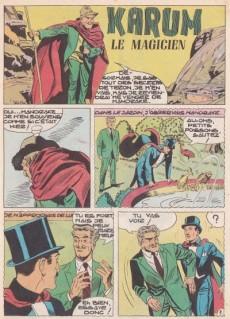 Extrait de Mandrake (1e Série - Remparts) (Mondes Mystérieux - 1) -82- Karum, le magicien