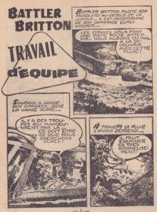 Extrait de Battler Britton -54- Travail d'équipe