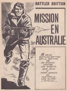 Extrait de Battler Britton -142- Mission en Australie