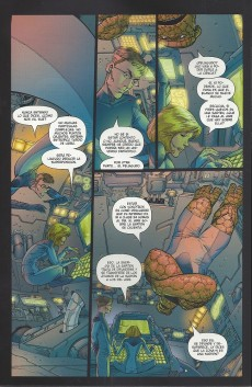 Extrait de Ultimate Fantastic Four -8- Zona-n (parte 3 y 4)
