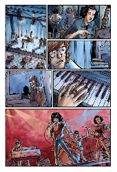 Extrait de Doors en Bandes Dessinées (The) - The Doors en Bandes Dessinées