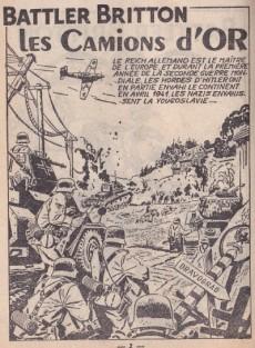 Extrait de Battler Britton -30- Les camions d'or