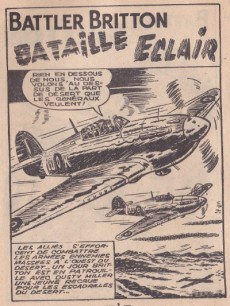 Extrait de Battler Britton -42- Bataille éclair