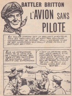 Extrait de Battler Britton -146- L'avion sans pilote