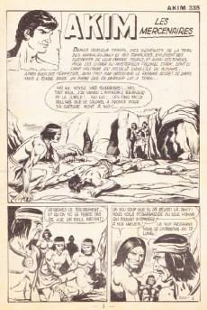 Extrait de Akim (1re série) -335- Les mercenaires