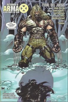 Extrait de Ultimate X-Men (en espagnol) -7- Retorno a arma x (6)