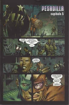 Extrait de Ultimates & Ultimate X-Men (Special) -3- Pesadilla (5) & Secreto (1)