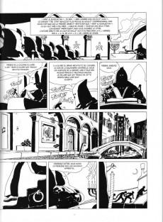 Extrait de Corto Maltese (2011 - En noir et blanc) -8- Fable De Venise