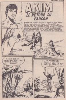 Extrait de Akim (1re série) -474- Le retour du Faucon
