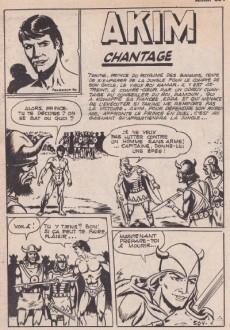 Extrait de Akim (1re série) -504- Chantage