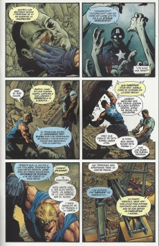 Extrait de Ultimates 2 (The) (en espagnol) -9- Recogiendo los pedazos