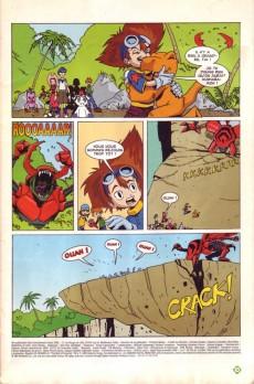 Extrait de Digimon (en comics) -2- La naissance de Greymon !