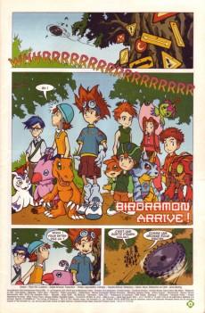Extrait de Digimon (en comics) -4- Birdramon arrive !