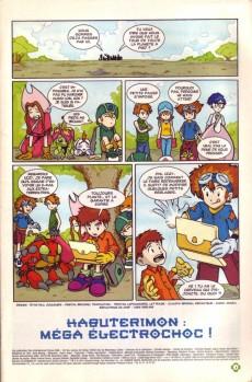 Extrait de Digimon (en comics) -5- Kabuterimon ! Méga électrochoc !