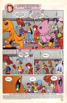 Extrait de Digimon (en comics) -6- Togemon à Joujou-ville !