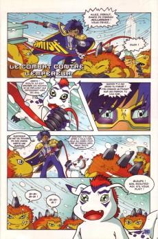 Extrait de Digimon (en comics) -18- Le combat contre le Digi-empereur !