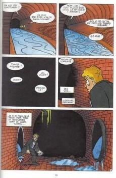 Extrait de Tortues ninja (Comics USA - spécial USA)) -3- Les égouts