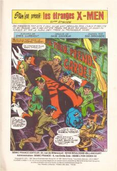 Extrait de X-Men/X-Men Saga (Semic) -5- X-Men 5
