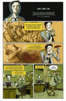 Extrait de Tony Chu - Détective cannibale -3- Croque-mort