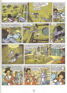 Extrait de Yoko Tsuno -13Pub- Les archanges de Vinéa