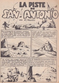 Extrait de Tex Bill -7- La piste de San-Antonio