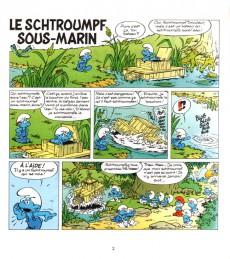 Extrait de Schtroumpfs (3 histoires de) -13HC- Le Schtroumpf sous-marin + Le Schtroumpf puant