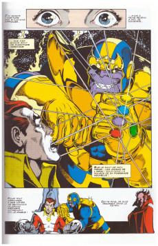 Extrait de Marvel Gold -1- Le gant de l'infini - Le défi de Thanos