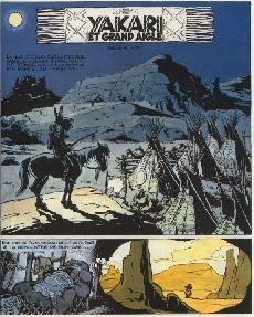 Extrait de Yakari -1b1979- Yakari et Grand Aigle