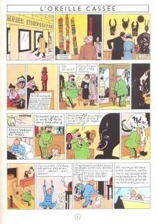 Extrait de Tintin (Historique) -6C7- L'oreille cassée