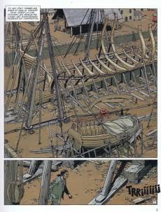 Extrait de L'Épervier (Pellerin) -2a2000- Le Rocher du crâne
