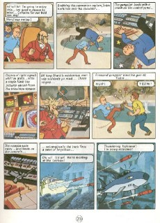 Extrait de Tintin (The Adventures of) -C3a- Tintin and the Lake of Sharks