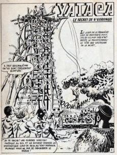 Extrait de Yataca (Fils-du-Soleil) -58- Le secret de N'Gorongo