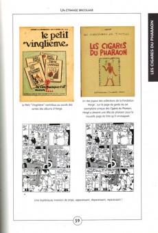 Extrait de Tintin - Divers -a- Tintin Noir sur Blanc