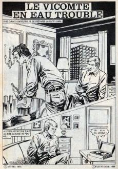Extrait de Le vicomte (Comics Pocket) -4- Le Vicomte en eaux troubles