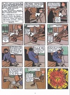 Extrait de Tintin - Pastiches, parodies & pirates -4a- Tintin au pays des soviets