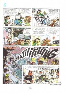 Extrait de Gaston -10a1987- Le géant de la gaffe
